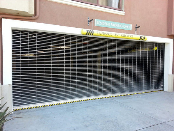 Model Sg700 Security Grill Roll Up Door Lux Garage Doors