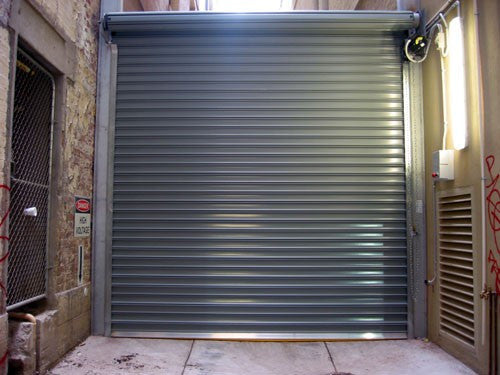Model Hd5000 Heavy Duty 3 Quot Slats Commercial Roll Up Door