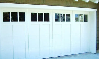 Nadine - Craftsman Style Custom Wood Garage Door