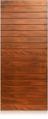 Oasis - Modern Mahogany Wood Entry Solid Door