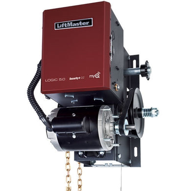 LiftMaster H - Elite Commercial Door Hoist Operator Including Chain-Hoist (Logic 5.0)