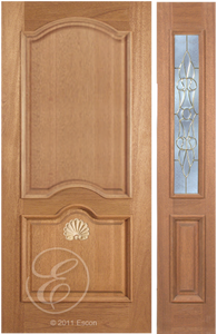 exterior classic solid wood doors lux garage doors