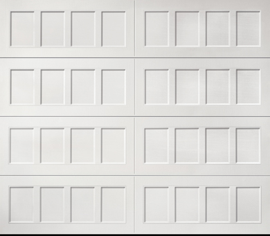 Recessed Panel Steel Garage Door