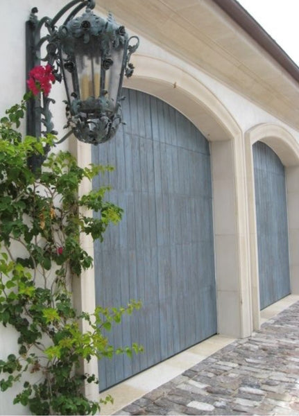 Santiago - Spanish Style Custom Wood Garage Door