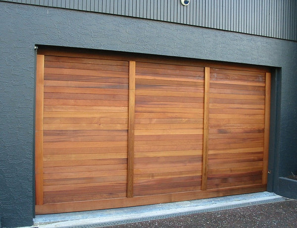 Tierra - Modern Style Custom Wood Garage Door