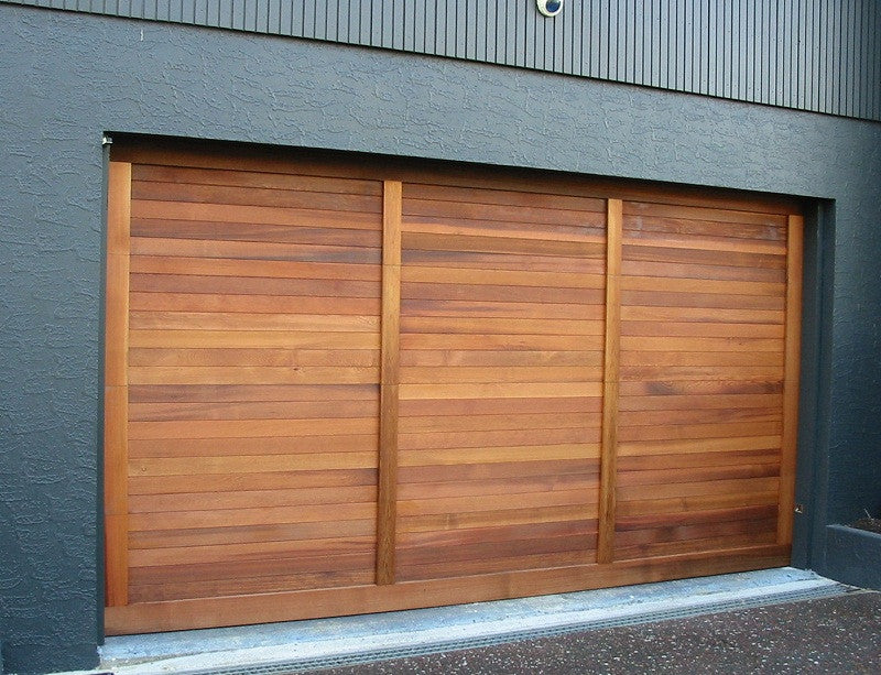 cedar garage doors. Tierra - Modern Style Custom Wood Garage Door Cedar Doors W