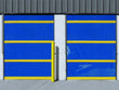 Vinyl Roll Up Door Using Chain Hoist