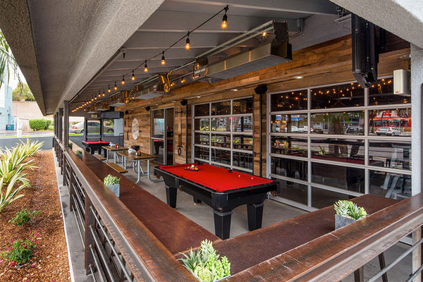 Bar & Restaurant Glass Garage Doors