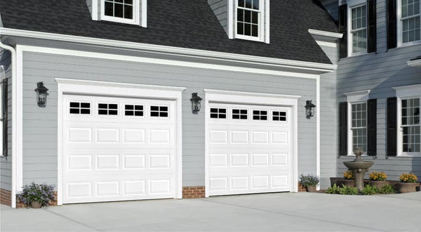 Short Panel Steel Garage Door
