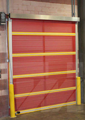 Vinyl Roll Up Door Using External Motor