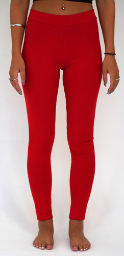Red Legging-Full Length