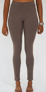 Warm Taupe Legging-Full Length