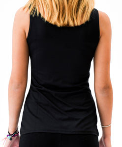 black tank top back view