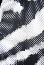 Graphic Zebra Swatch Close Up View