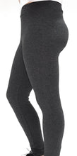 Charcoal Heather Grey Legging-Full Length - Basics by Michelle V