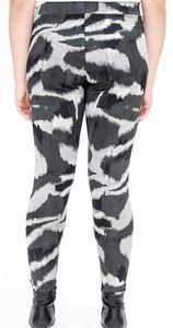 Graphic Zebra Print Legging-Full Length - Basics by Michelle V