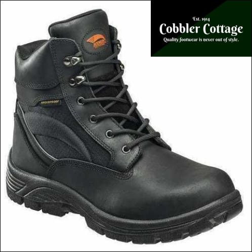 Avenger 7627 6 Leather And Cordura Eh Waterproof Slip Resistant Soft Toe Work  Boot - Mens ce4ec34ce5ab