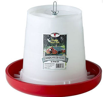 PLASTIC HANGING POULTRY FEEDER