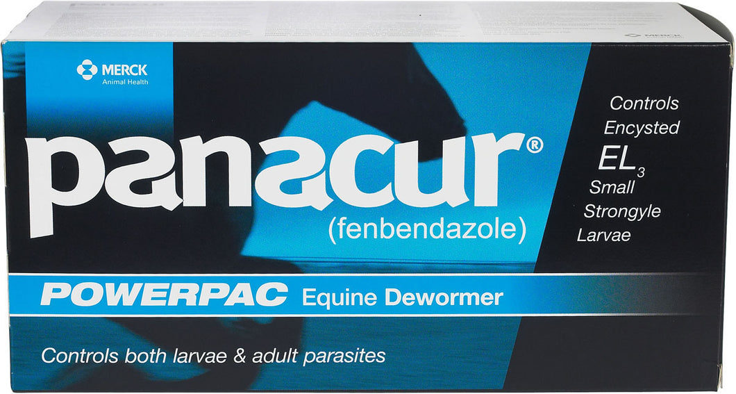 Panacur PowerPac Paste Horse Wormer by Merck