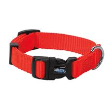 Prism Snap & Go Adjustable Nylon Dog Collar, Blaze Orange
