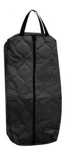 Quilted nylon bridle or halter bag.