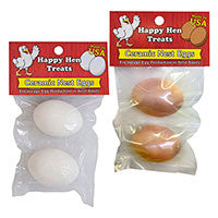 Ceramic Nest Eggs - white eggs