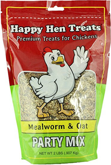 Happy Hen Treats -Meal worm & Oat