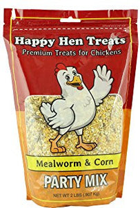 Happy Hen Treats -Mealworm & corn