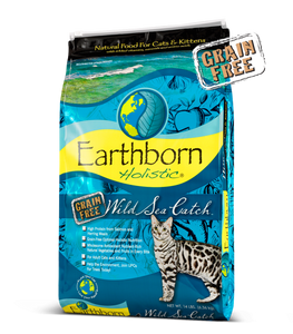 Earthborn Holistic® Wild Sea Catch™ Grain-Free Cat Food
