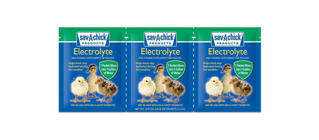 Sav-A-Chick Electrolytes -3 packs