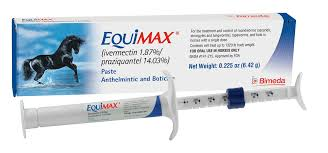 EQUIMAX PASTE HORSE WORMER