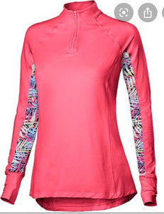 NOBLE OUTFITTERS ASHLEY PERFORMANCE LADIES LONG SLEEVE SHIRT TOP VIVACIOUS