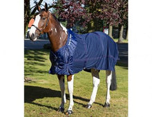 Therapeutic Mesh Sheet with Neck Cover - Navy