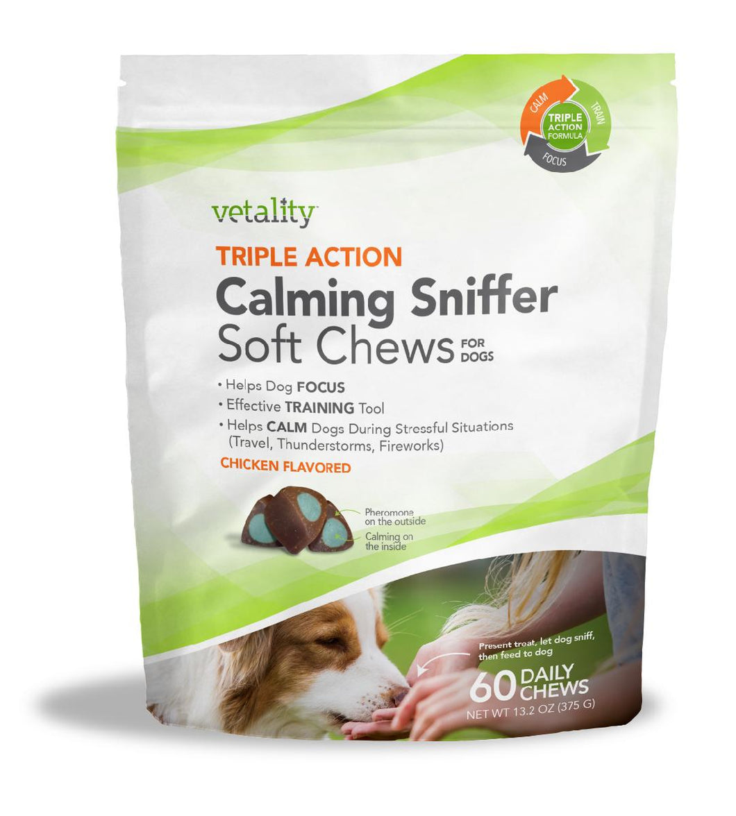 Vetality Calming Sniffer Soft Chews
