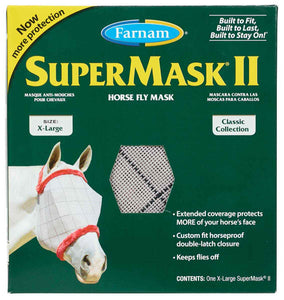 SuperMask II Classic Collection Fly Mask Without Ears