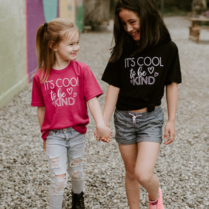 It's COOL to be KIND - Black Tee