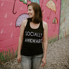 SOCIALLY AWKWARD - Adult Tank