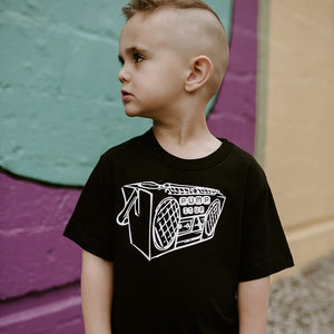 Pump It Up - Black Tee