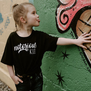 Notorious K.I.D - Black Tee