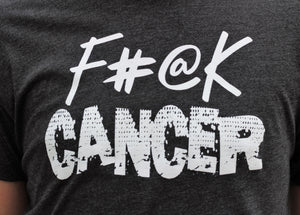 F#@K Cancer Grey Tee - ADULT