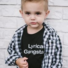 Lyrical Gangsta - Black Tee