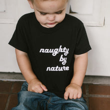 Naughty By Nature - Black Tee