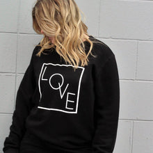 LOVE - Adult Crewneck Black Sweater