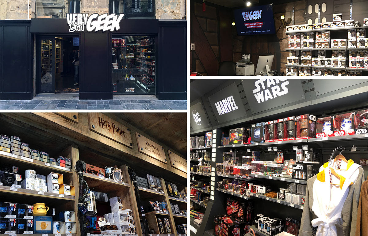 La Boutique Very Bad Geek de Bordeaux