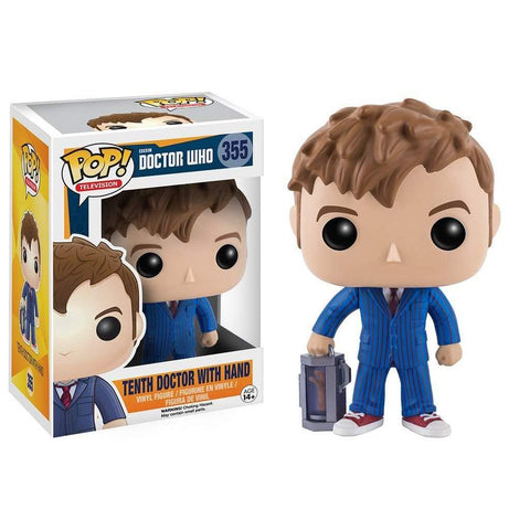 POP! Vinyl : Doctor Who - 10th Doctor with Hand
