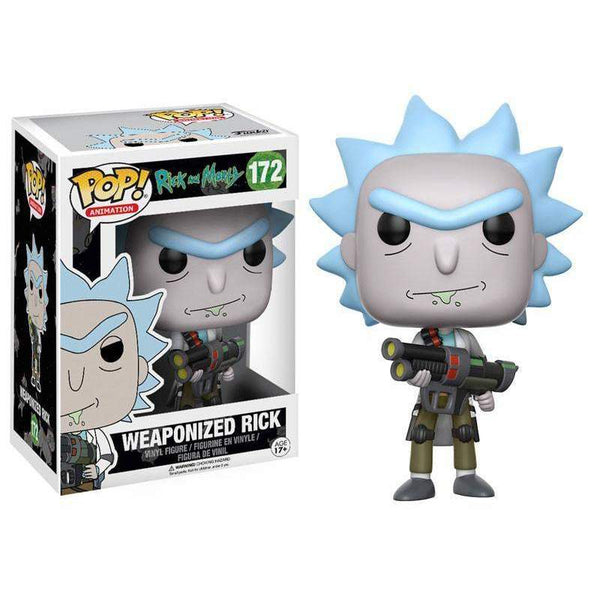 POP! Vinyl : Rick and Morty - Weaponized Rick