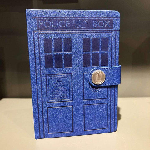 "Cahier A5 Deluxe ""Tardis"" - Doctor Who-Very Bad Geek"