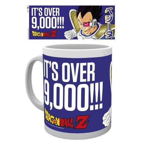 "Mug Dragon Ball Z ""Vegeta, It's over 9000"""