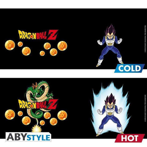 Mug Thermo-Réactif Dragon Ball Z - Vegeta-Very Bad Geek