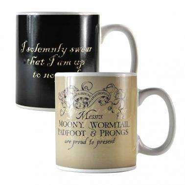 "Mug Thermo-Réactif Harry Potter ""Carte du Maraudeur"""